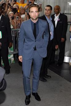 WHO: Robert Pattinson. WHERE: The New York premiere of